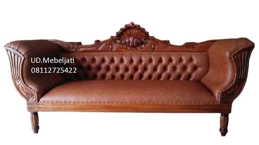 sofa jok ukir kerang
